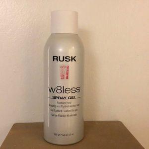 Rusk w8less spray gel 5.3 oz